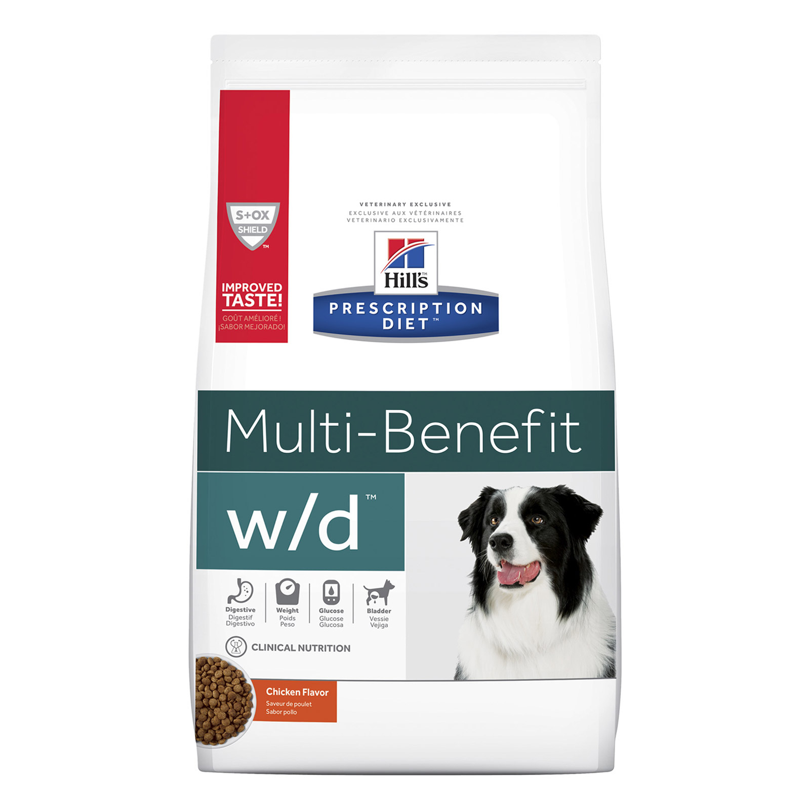 Hill's Prescription Diet w/d Digestive/Weight/Glucose Management with Chicken Dry Dog Food