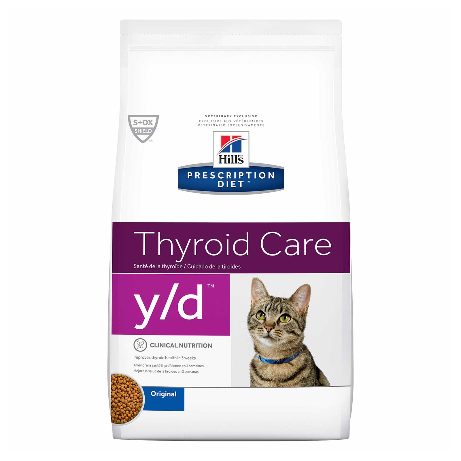 Hill's Prescription Diet Feline y/d Thyroid Care Dry