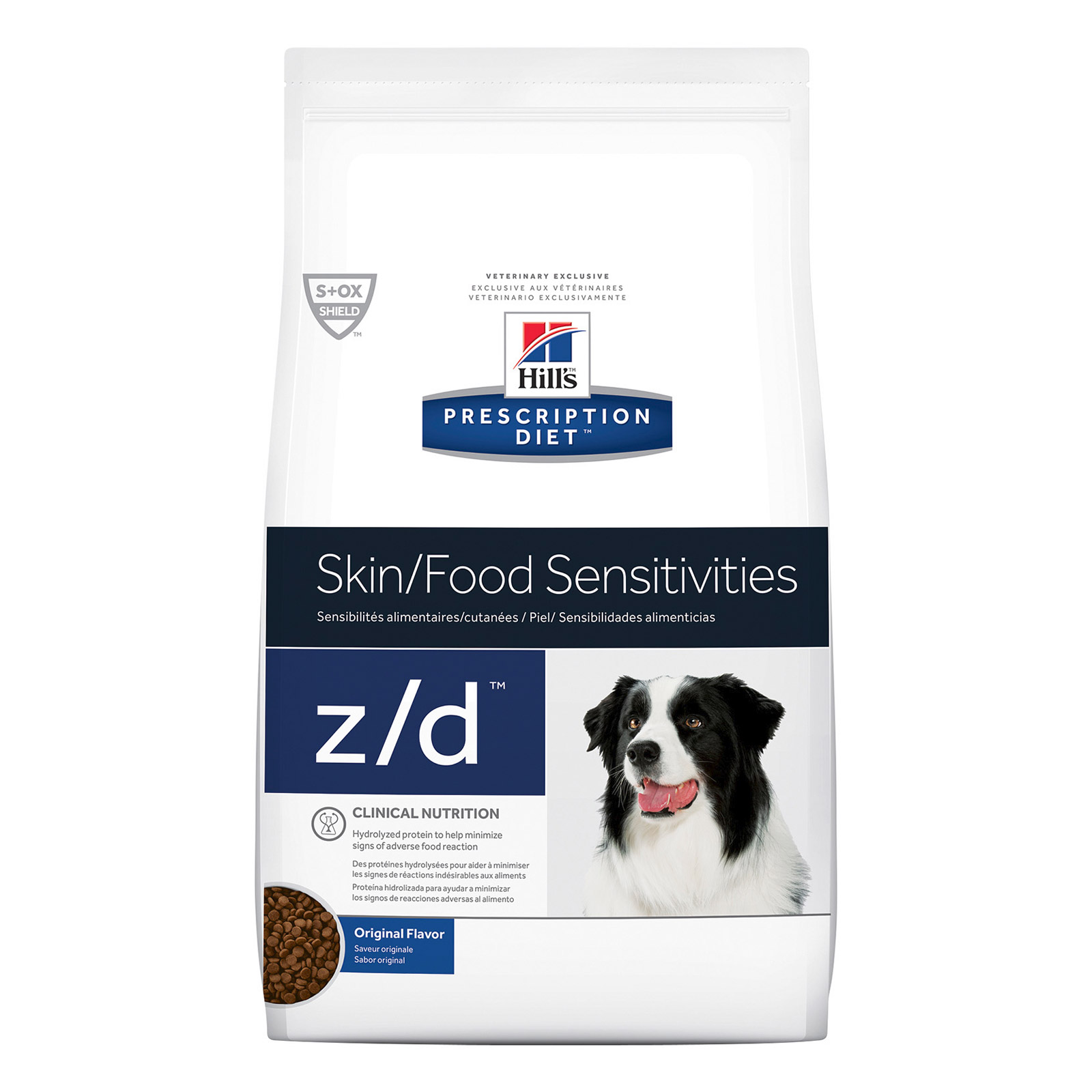 Hill's Prescription Diet Z/D Skin/Food Sensitivities Dry Dog Food   7.98 Kgs