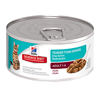 Hill's Science Diet Adult Tender Tuna Dinner Feline Cans