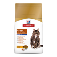 Hill's Science Diet Hairball Control Mature Adult Feline Dry