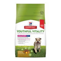 Hill's Science Diet Adult 7+ Youthful Vitality Small & Toy Breed Chicken & Rice Dry Dog Food