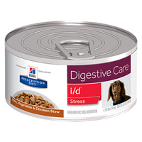 Hill's Prescription Diet i/d Stress Digestive Care Rice, Vegetable & Chicken Stew Canned Dog Food