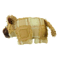 Hyper Patchwork Palz Lion Dog Toy 20 cm
