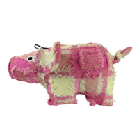 Hyper Patchwork Palz Pig Dog Toy