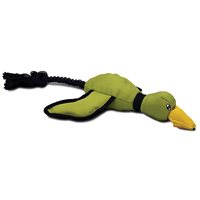 Hyper Pet Mini Flying Duck Dog Toy Green