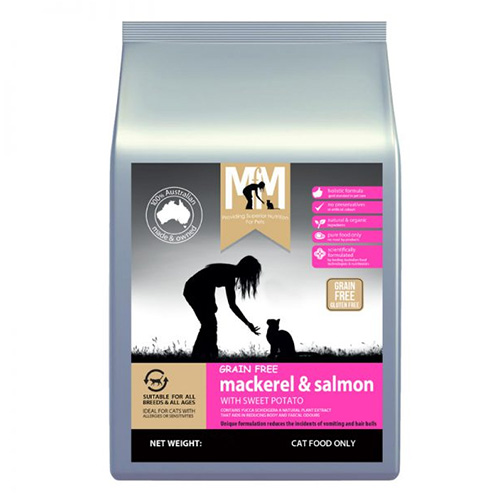 MFM Meals For Meows Cat Grain Free Mackerel & Salmon Dry Food