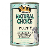 Nutro Natural Choice Puppy Chicken, Rice and Oatmeal Cans