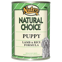 Nutro Natural Choice Puppy Lamb and Rice Canned Food