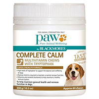 PAW Complete Calm Multivitamin Chews