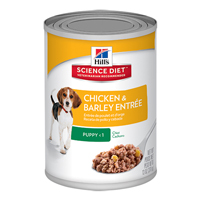 Hill's Science Diet Puppy Chicken & Barley Entrée Canned Dog Food