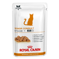 Royal Canin Feline Senior Consult Stage 1 Pouch
