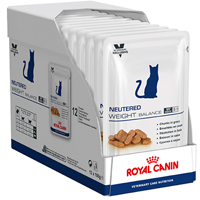 Royal Canin Neutered Weight Balance Cat Food  100 Gm 12 Cans