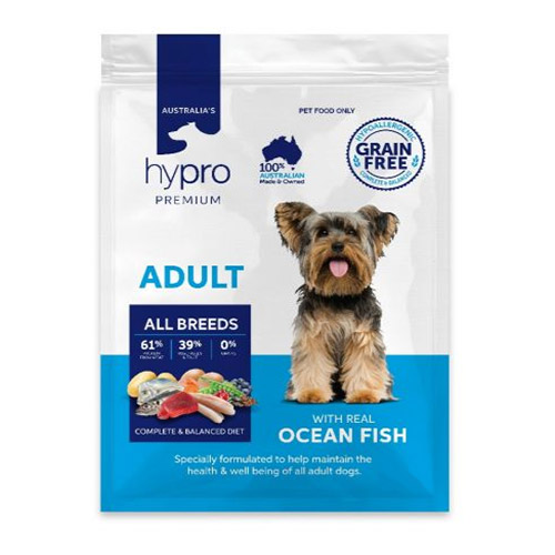 Hypro Premium Adult Ocean Fish Dry Dog Food
