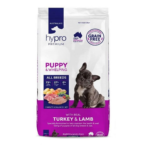 Hypro Premium Puppy Turkey & Lamb Dry Dog Food