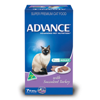 Advance Adult Cat with Succulent Turkey Cans 85 Gm