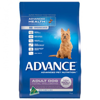 Advance Adult Dog Total Wellbeing  Toy/Small Breed with Turkey & Rice Dry