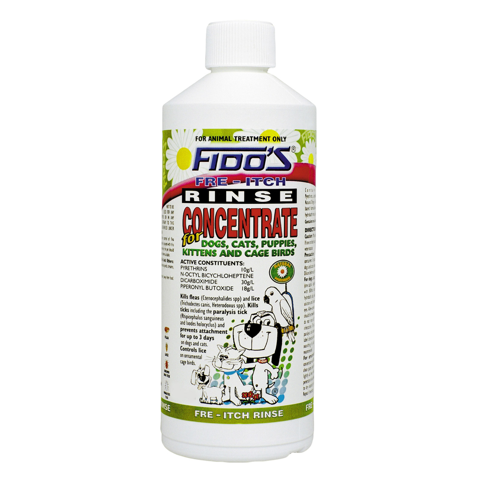 Fido's Fre-Itch Rinse Concentrate  125 Ml