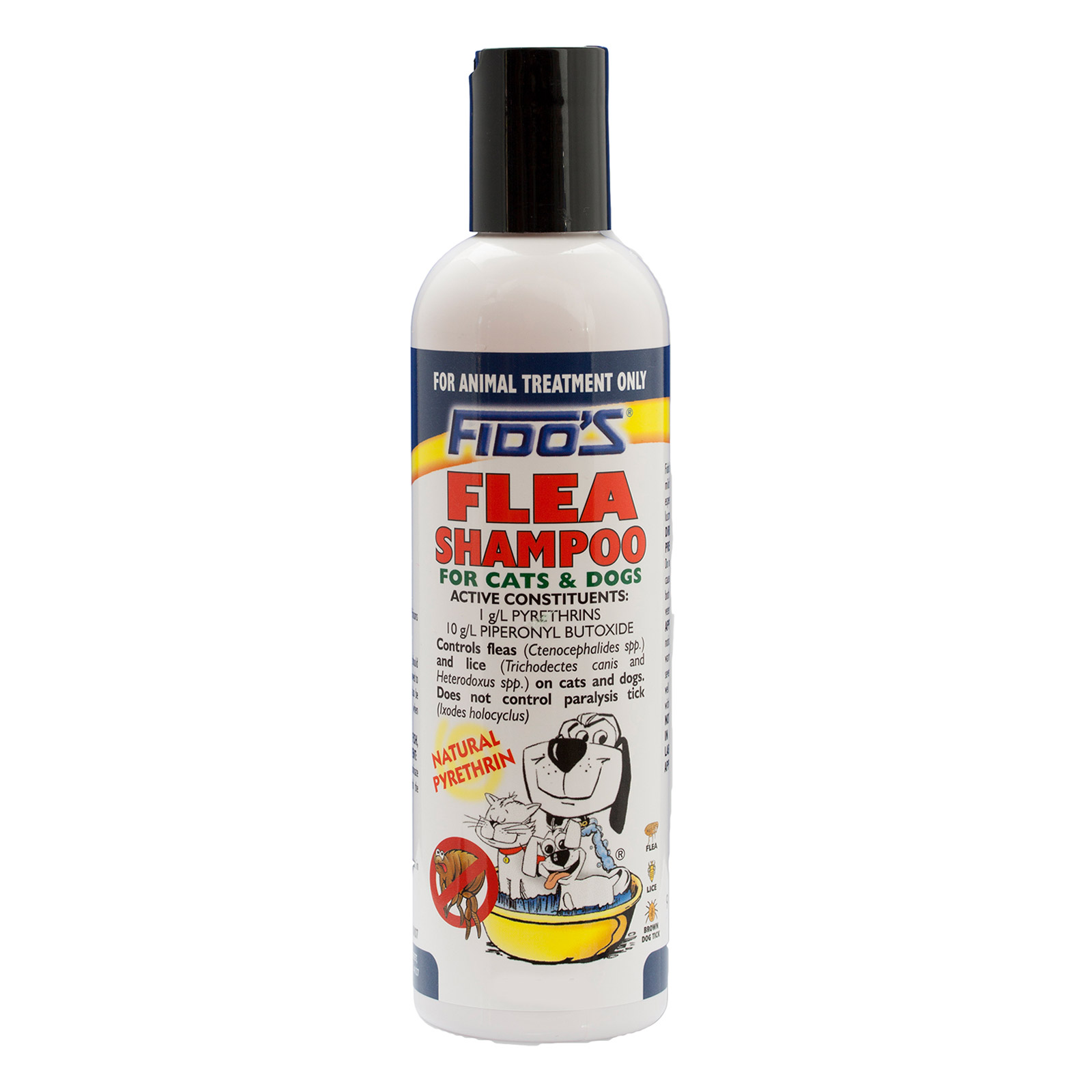 Fidos Flea Shampoo For Dogs 250 Ml