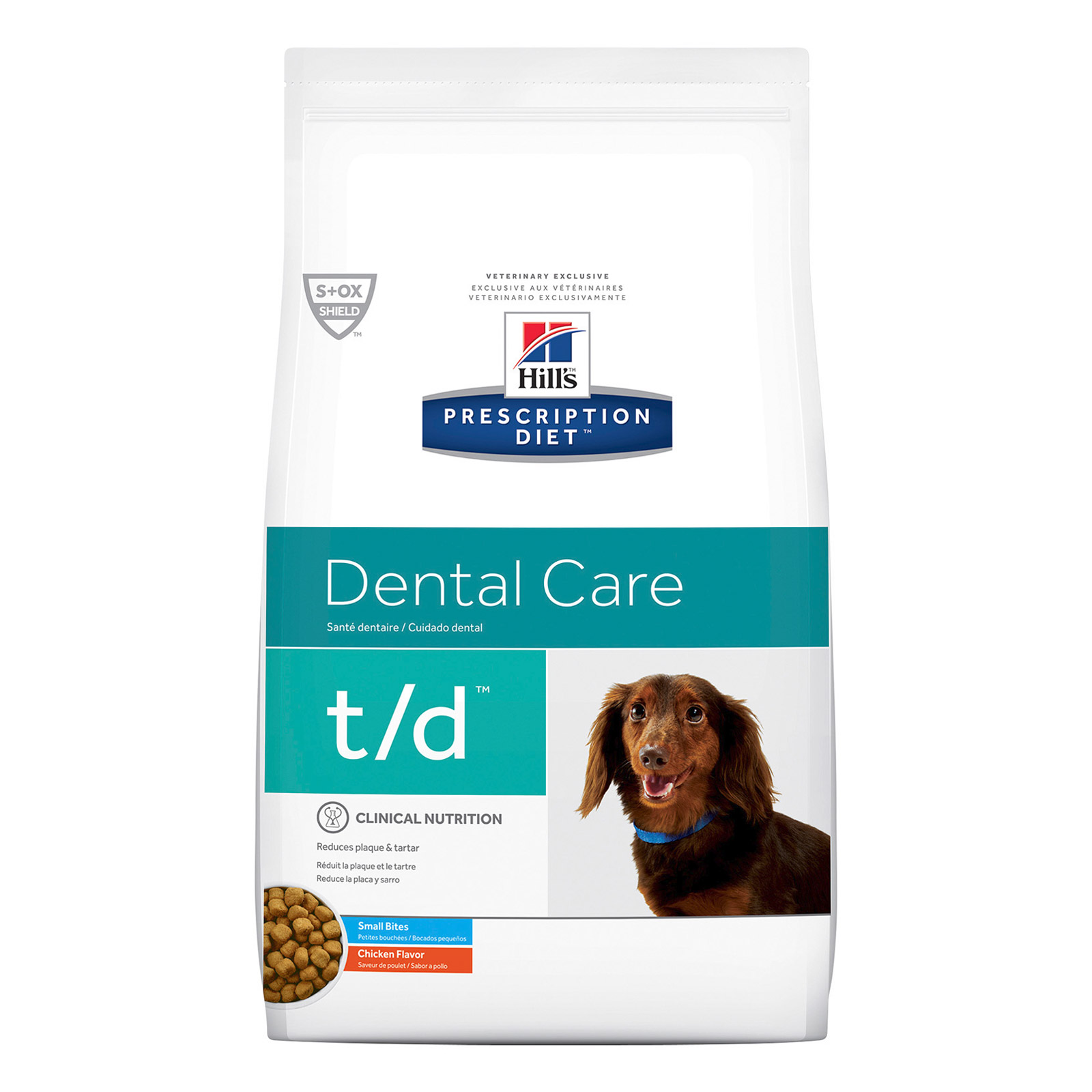 Hill's Prescription Diet T/D Dental Health Small Bites Canine Dry