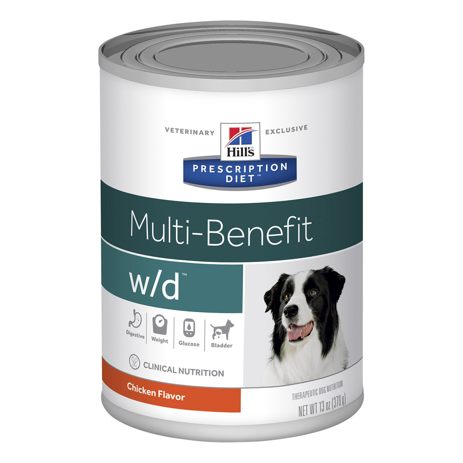 Hill's Prescription Diet W/D Digestive/Weight/Glucose Management Canned Dog Food 370 Gm 12 Cans