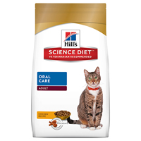 Hill's Science Diet Adult Oral Care Dry Cat Food