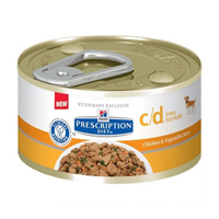 Hill's Prescription Diet Canine c/d Chicken & Vegetable Stew Cans