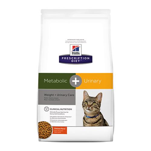 Hill's Prescription Diet Metabolic + Urinary (Weight And Urinary Care) Dry Cat Food &Nbsp; 2.88 Kgs