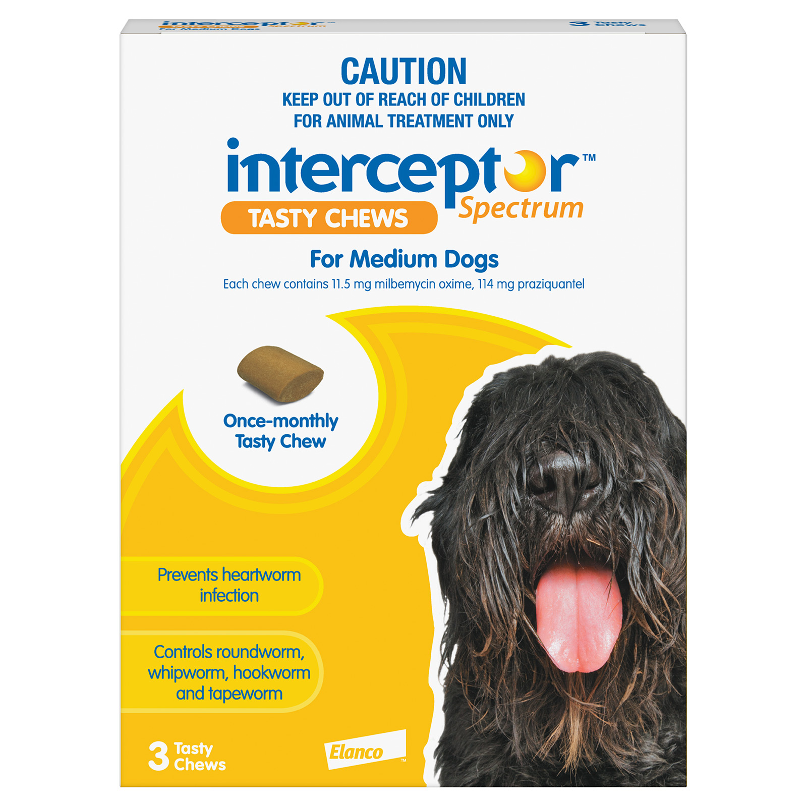 Interceptor Spectrum Tasty Chews