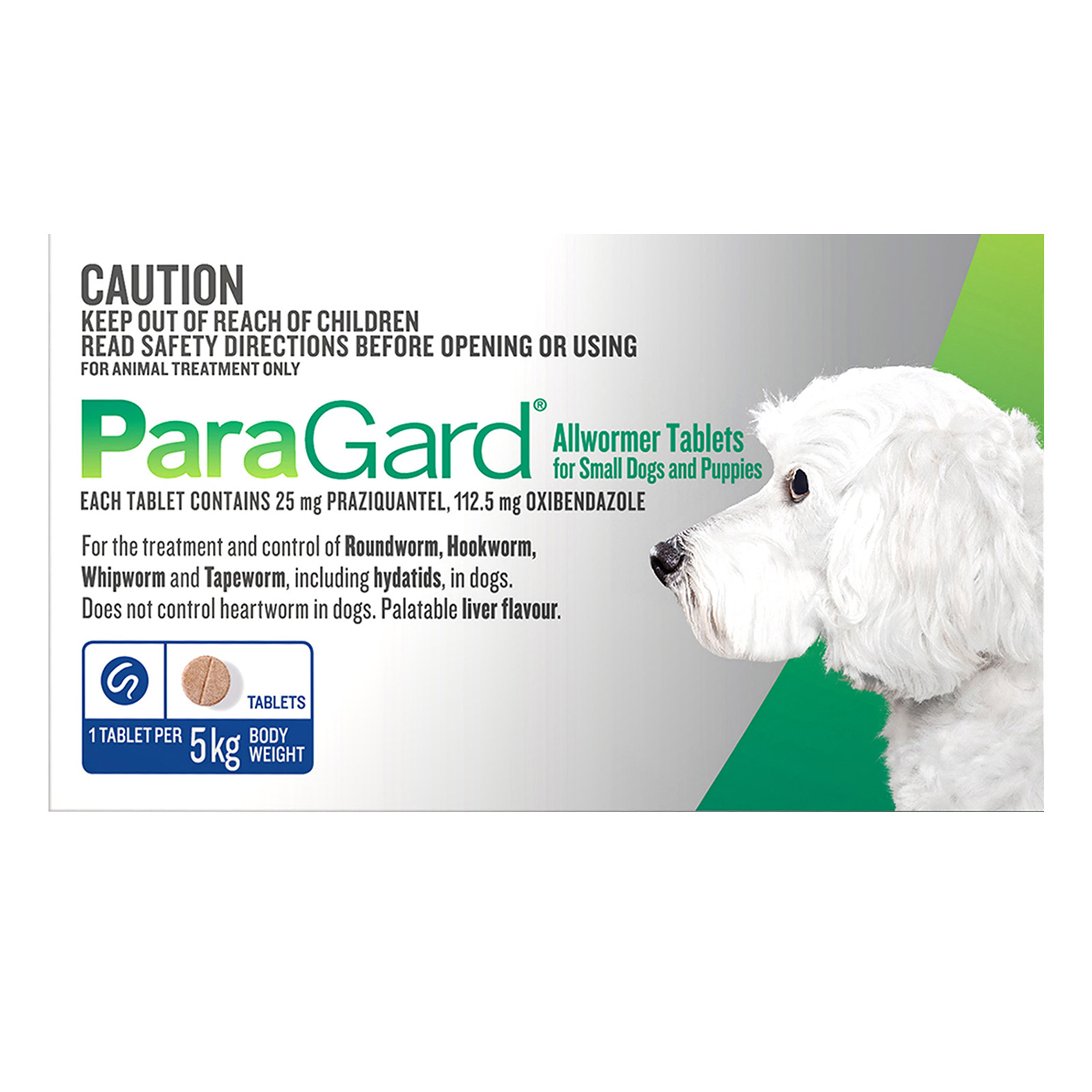 Paragard Broad Spectrum Wormer For Dogs 5 Kg