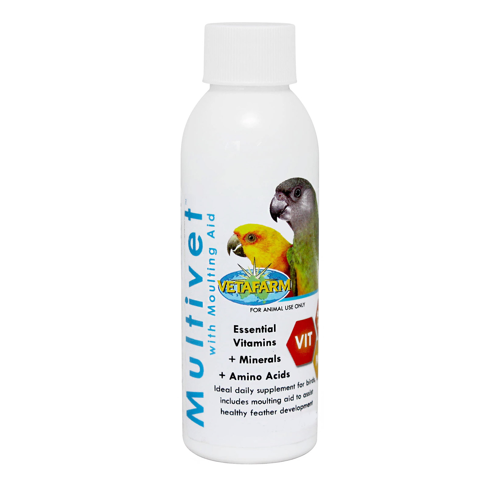 Vetafarm Multivet Liquid with Moulting Aid for Birds